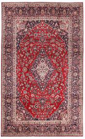 Mashad Szőnyeg 213X344 Keleti Csomózású Sötétlila/Piros (Gyapjú, Perzsia/Irán)
