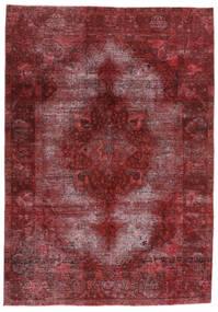 Vintage Heritage Szőnyeg 198X284 Modern Csomózású Sötétpiros/Bíbor (Gyapjú, Perzsia/Irán)