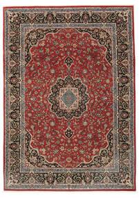 Ilam Sherkat Farsh Szőnyeg 248X340 Keleti Csomózású Sötétpiros/Sötétszürke (Gyapjú/Selyem, Perzsia/Irán)
