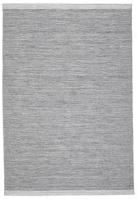 Serafina - Sötétszürke Melange Szőnyeg 200X300 Modern Kézi Szövésű Világosszürke/Világoskék (Gyapjú, India)