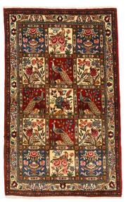 Bakhtiar Collectible Szőnyeg 105X168 Keleti Csomózású Sötétbarna/Sötétpiros (Gyapjú, Perzsia/Irán)