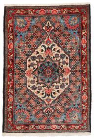 Bakhtiar Collectible Szőnyeg 108X157 Keleti Csomózású Sötétbarna/Sötétpiros (Gyapjú, Perzsia/Irán)