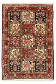 Bakhtiar Collectible Szőnyeg 103X150 Keleti Csomózású Sötétbarna/Világosbarna (Gyapjú, Perzsia/Irán)