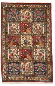 Bakhtiar Collectible Szőnyeg 106X162 Keleti Csomózású Sötétbarna/Sötétpiros (Gyapjú, Perzsia/Irán)