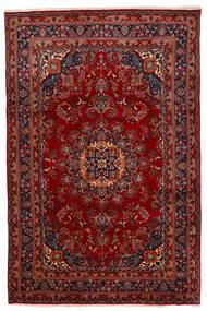 Mashad Szőnyeg 192X294 Keleti Csomózású Sötétpiros/Piros (Gyapjú, Perzsia/Irán)