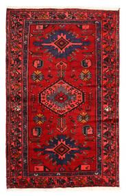Hamadán Szőnyeg 128X204 Keleti Csomózású Sötétbarna/Rozsdaszín (Gyapjú, Perzsia/Irán)