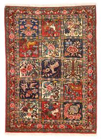 Bakhtiar Collectible Szőnyeg 110X154 Keleti Csomózású Sötétbarna/Sötétpiros (Gyapjú, Perzsia/Irán)
