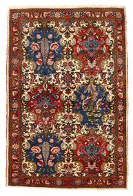 Bakhtiar Collectible Szőnyeg 111X166 Keleti Csomózású Sötétpiros/Sötétbarna (Gyapjú, Perzsia/Irán)