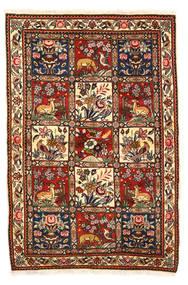 Bakhtiar Collectible Szőnyeg 115X170 Keleti Csomózású Sötétbarna/Bézs/Krém (Gyapjú, Perzsia/Irán)