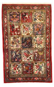 Bakhtiar Collectible Szőnyeg 108X171 Keleti Csomózású Sötétpiros/Sötétbarna (Gyapjú, Perzsia/Irán)