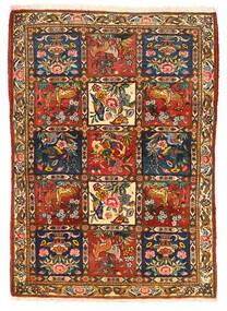 Bakhtiar Collectible Szőnyeg 115X155 Keleti Csomózású Sötétbarna/Piros (Gyapjú, Perzsia/Irán)