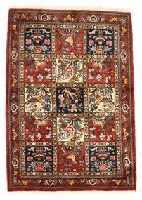 Bakhtiar Collectible Szőnyeg 111X156 Keleti Csomózású Sötétpiros/Sötétbarna (Gyapjú, Perzsia/Irán)