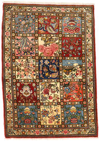 Bakhtiar Collectible Szőnyeg 111X158 Keleti Csomózású Sötétbarna/Barna (Gyapjú, Perzsia/Irán)