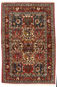 Bakhtiar Collectible Szőnyeg 108X162 Keleti Csomózású Sötétbarna/Világosbarna (Gyapjú, Perzsia/Irán)