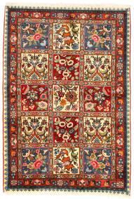 Bakhtiar Collectible Szőnyeg 107X155 Keleti Csomózású Sötétbarna/Bézs (Gyapjú, Perzsia/Irán)