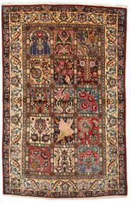 Bakhtiar Collectible Szőnyeg 108X170 Keleti Csomózású Sötétbarna/Sötétpiros (Gyapjú, Perzsia/Irán)