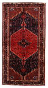 Toiserkan Szőnyeg 137X265 Keleti Csomózású Sötétpiros/Rozsdaszín (Gyapjú, Perzsia/Irán)