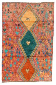 Moroccan Berber - Afghanistan Szőnyeg 114X175 Modern Csomózású Piros/Narancssárga (Gyapjú, Afganisztán)