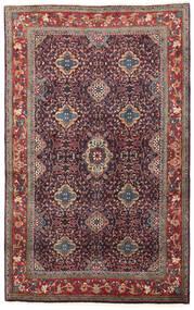 Bijar Szőnyeg 134X209 Keleti Csomózású Sötétlila/Sötétpiros (Gyapjú, Perzsia/Irán)