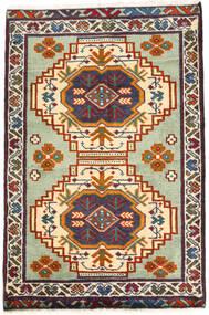 Turkaman Szőnyeg 59X89 Keleti Csomózású Sötétszürke/Bézs (Gyapjú, Perzsia/Irán)