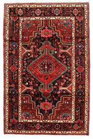 Hamadán Szőnyeg 123X190 Keleti Csomózású Sötétbarna/Sötétpiros (Gyapjú, Perzsia/Irán)