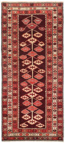 Kilim Karabah Szőnyeg 132X303 Keleti Kézi Szövésű Sötétpiros/Rozsdaszín (Gyapjú, Azerbajdzsán/Oroszország)