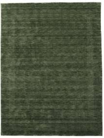 Handloom Gabba - Erdőzöld Szőnyeg 210X290 Modern Sötétzöld (Gyapjú, India)