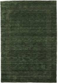 Handloom Gabba - Erdőzöld Szőnyeg 160X230 Modern Sötétzöld (Gyapjú, India)