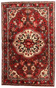 Mehraban Szőnyeg 100X168 Keleti Csomózású Sötétpiros/Sötétbarna (Gyapjú, Perzsia/Irán)