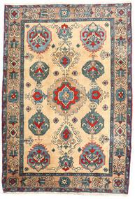 Ardebil Szőnyeg 114X168 Keleti Csomózású Bézs/Világosbarna (Gyapjú, Perzsia/Irán)
