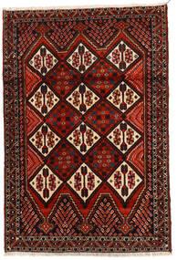 Afshar Szőnyeg 114X167 Keleti Csomózású Sötétbarna/Sötétpiros (Gyapjú, Perzsia/Irán)