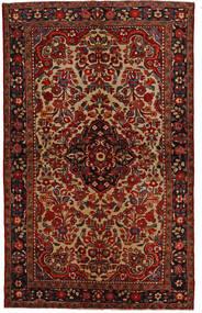 Lillian Szőnyeg 148X240 Keleti Csomózású Sötétbarna/Sötétpiros (Gyapjú, Perzsia/Irán)