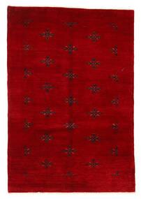 Huttan Szőnyeg 125X183 Keleti Csomózású Sötétpiros (Gyapjú, Pakisztán)