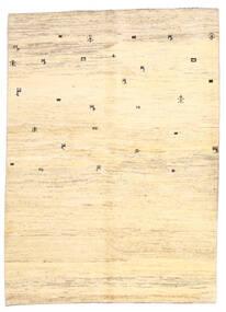 Gabbeh Perzsa Szőnyeg 169X236 Modern Csomózású Bézs/Sárga (Gyapjú, Perzsia/Irán)