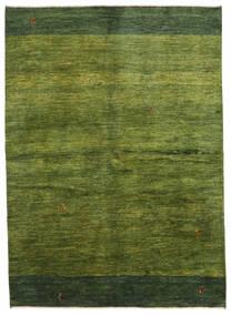 Gabbeh Perzsa Szőnyeg 165X230 Modern Csomózású Sötétzöld/Olívazöld (Gyapjú, Perzsia/Irán)