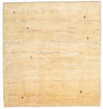 Gabbeh Perzsa Szőnyeg 195X207 Modern Csomózású Szögletes Bézs/Sötét Bézs (Gyapjú, Perzsia/Irán)
