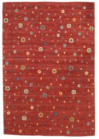 Loribaf Loom Szőnyeg 165X240 Modern Csomózású Rozsdaszín/Sötétpiros (Gyapjú, India)