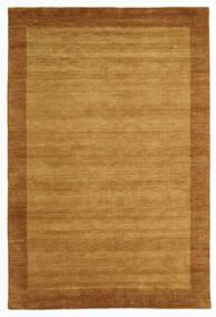 Handloom Frame - Arany Szőnyeg 200X300 Modern Barna/Világosbarna (Gyapjú, India)