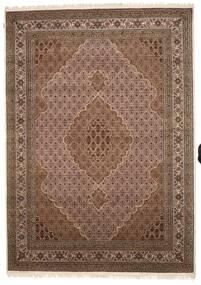Tabriz Royal Szőnyeg 248X349 Keleti Csomózású Barna/Sötétbarna ( India)