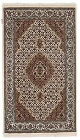 Tabriz Royal Szőnyeg 91X156 Keleti Csomózású Sötétbarna/Világosszürke ( India)