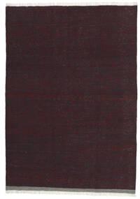Kilim Szőnyeg 101X146 Keleti Kézi Szövésű Sötétpiros/Sötétbarna (Gyapjú, Perzsia/Irán)