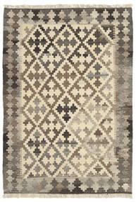Kilim Szőnyeg 106X151 Keleti Kézi Szövésű Világosszürke/Bézs (Gyapjú, Perzsia/Irán)