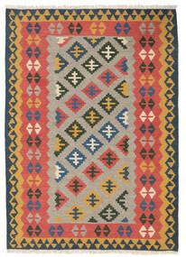 Kilim Szőnyeg 107X150 Keleti Kézi Szövésű Rozsdaszín/Világosbarna (Gyapjú, Perzsia/Irán)