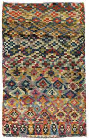 Moroccan Berber - Afghanistan Szőnyeg 117X182 Modern Csomózású Sötétszürke/Világosszürke (Gyapjú, Afganisztán)
