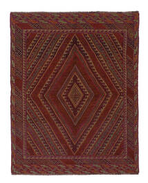 Kilim Golbarjasta Szőnyeg 143X185 Keleti Kézi Szövésű Fekete/Bézs/Krém (Gyapjú, Afganisztán)