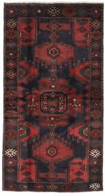 Hamadán Szőnyeg 113X210 Keleti Csomózású Fekete/Sötétbarna (Gyapjú, Perzsia/Irán)