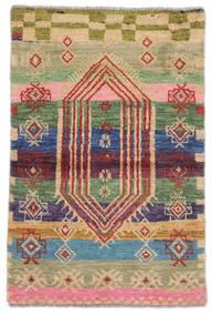 Moroccan Berber - Afghanistan Szőnyeg 74X112 Modern Csomózású Sötétbarna/Barna (Gyapjú, Afganisztán)