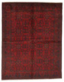 Afgán Khal Mohammadi Szőnyeg 177X225 Keleti Csomózású Fekete/Sötétpiros (Gyapjú, Afganisztán)