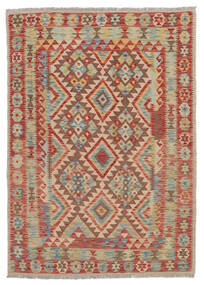 Kilim Afgán Old Style Szőnyeg 132X180 Keleti Kézi Szövésű (Gyapjú, Afganisztán)