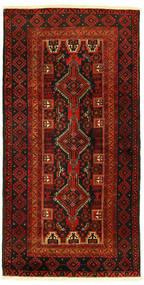 Balouch Szőnyeg 96X193 Keleti Csomózású (Gyapjú, Perzsia/Irán)